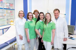 Das Team in Steinfeld - Hausarzt Dr. Brack